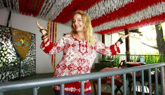 A cantora baiana Sarajane - Foto: Fernando Vivas| Ag. A TARDE