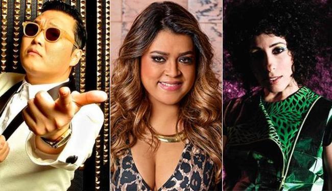 Psy, Preta Gil e Márcia Castro serão algumas das atrações da Varanda Elétrica - Foto: Divulgação