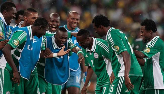 Nigerianos conquistaram vaga na decisão do próximo domingo, 10 - Foto: Rogan Ward / Agência Reuters