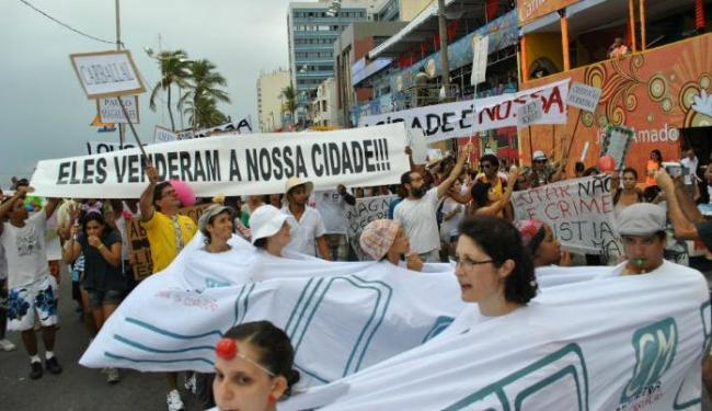 Pipoca Indignada - Foto: Carlos Américo Barros | Movimento Desocupa Salvador