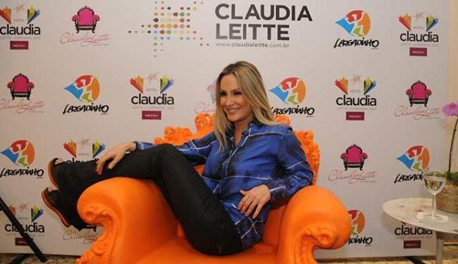 Claudia Leitte conseguiu manter a vaga do novo bloco dela, o Largadinho - Foto: Ângelo Pontes | Divulgação