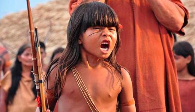 Para Wiranu, atualmente com 8 anos, viver Tainá no cinema foi uma grande diversão - Foto: Divulgação