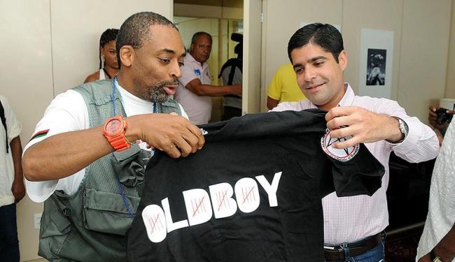 Spike Lee conversou com o prefeito ACM Neto sobre questõesraciais - Foto: Valter Pontes l Divulgação