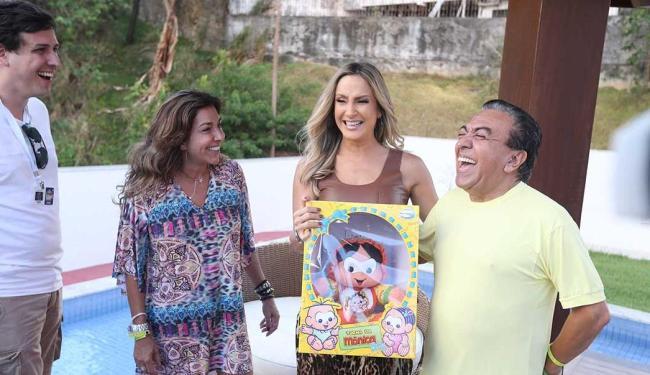 Cartunista Maurício de Sousa promete algo especial no trio de Claudia Leitte - Foto: Raul Spinassé | Ag. A TARDE