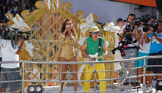 Cantora dividiu a apresentação com Armandinho - Foto: Joa Souza | Ag. A TARDE