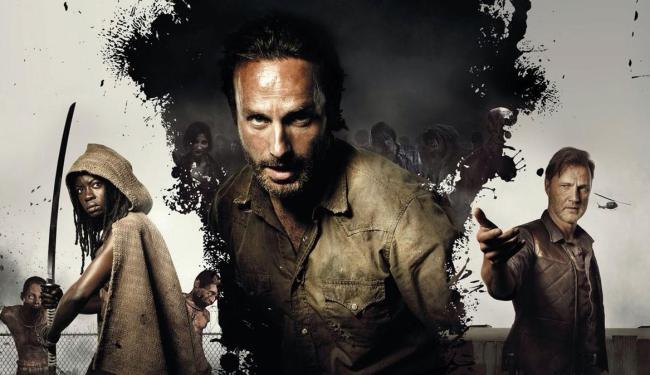 Além da HQ e seriado de TV, a febre Walking Dead continua em uma série de romances - Foto: Divulgação