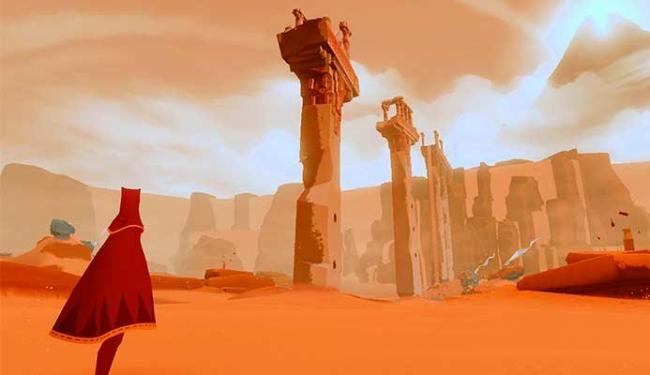 O game Journey foi o mais indicado do Bafta Video Game Awards - Foto: Divulgação