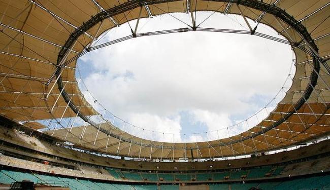 Partida do dia 22 de junho na Arena Fonte Nova entre Brasil e Itália está esgotada - Foto: Marco Aurélio Martins | Ag. A Tarde