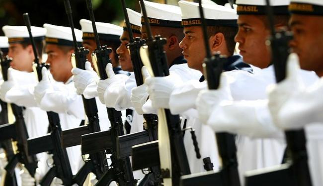 Candidatos em treinamento da Marinha - Foto: Fernando Vivas   Ag. A TARDE
