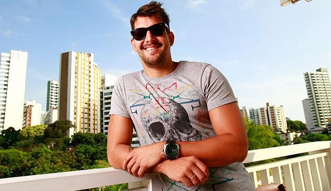 Felipe Pezzoni, novo vocalista do grupo Eva - Foto: Fernando Vivas | Ag. A TARDE