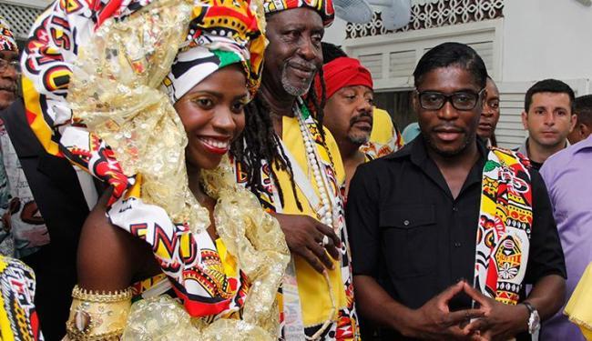 Mangue participou da saída do Ilê no sábado de Carnaval - Foto: Joá Souza / Ag. A TARDE
