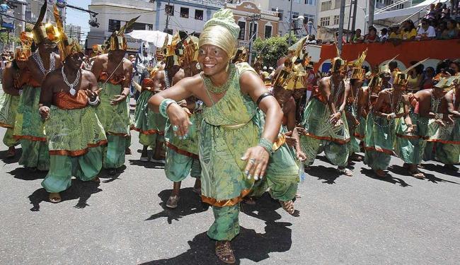 Desfile dos blocos afros ocorreu este ano no circuito do Campo Grande - Foto: Joá Souza | Ag. A TARDE
