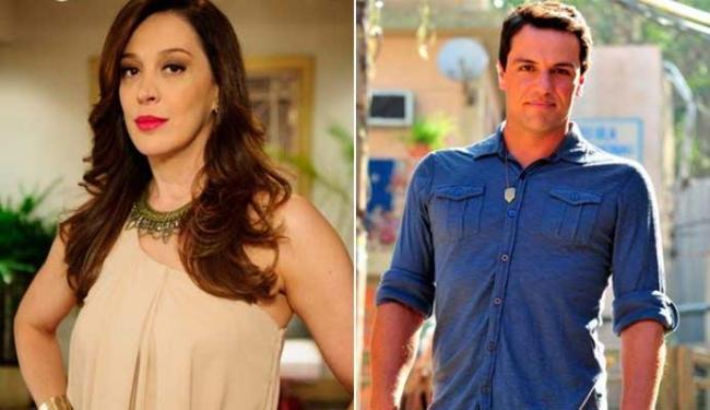 Lívia encontra Theo, que a acusa de ter traficado Morena - Foto: Divulgação