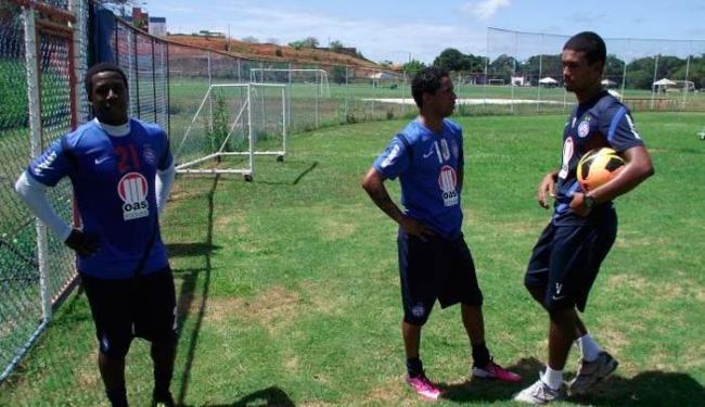 Jogadores vinham fazendo um trabalho especial de musculação - Foto: Esporte Clube Bahia / Divulgação