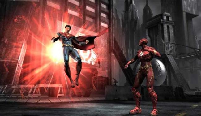 Injustice vai trazer duelos de heróis e vilões da DC Comics - Foto: Divulgação