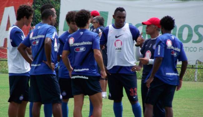 Treinador começou a esboçar uma nova formação para o tricolor baiano - Foto: Assessoria do Esporte Clube Bahia / Divulgação