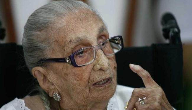 Matriarca da família Veloso será homenageada no Espicha Verão - Foto: Luiz Tito   Ag. A TARDE