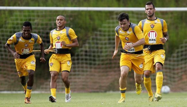 Comissão técnica vai tirar proveito do período sem jogo para deixar grupo em boa forma - Foto: Eduardo Martins   Ag. A Tarde