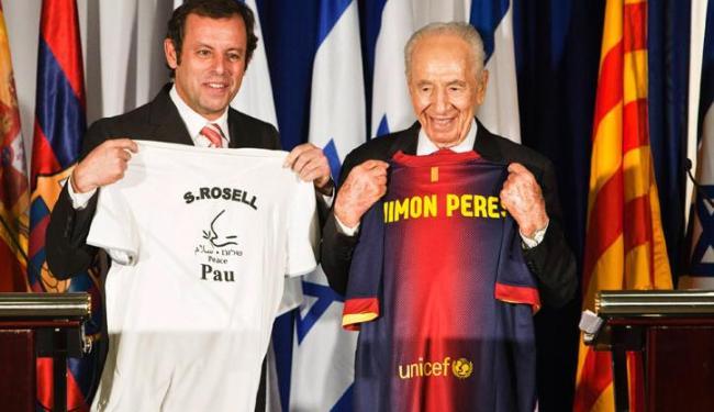 Segundo o presidente do Barça, partida em Israel terá jogadores palestinos - Foto: Nir Elias / Agência Reuters