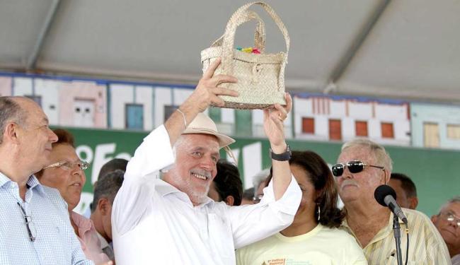 Jaques Wagner inaugura trechos de estradas em cidades do norte da Bahia - Foto: Manu Dias/GOVBA