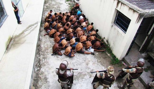 Trinta detentos foram transferidos após a manifestação - Foto: Gustavo Moreira | RADAR64