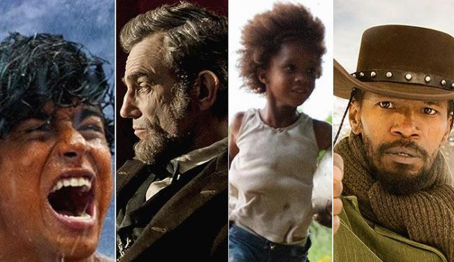 Montagem dos filmes indicados ao Oscar 2013 - Foto: Divulgação