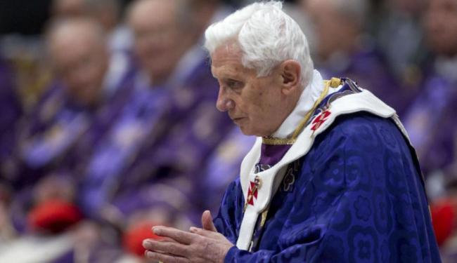 Contraofensiva do Vaticano coincide com a conclusão por parte do Papa Bento XVI da semana de retiro - Foto: Agência   EFE