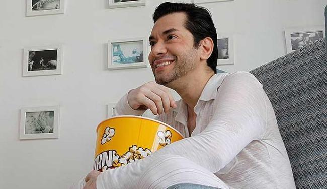 O ator Bubba de Campos costumava se reunir com amigos para ver o Oscar - Foto: Eduardo Martins | Agência A TARDE