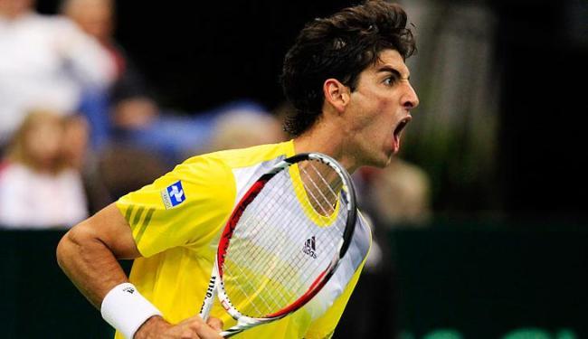 Tenista brasileiro se beneficiou da queda do checo Radek Stepanek e subiu para o 37º lugar - Foto: Daron Dean / Agência Reuters