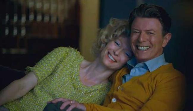 A atriz Tilda Swinton participa do clipe do novo single de David Bowie - Foto: Reprodução