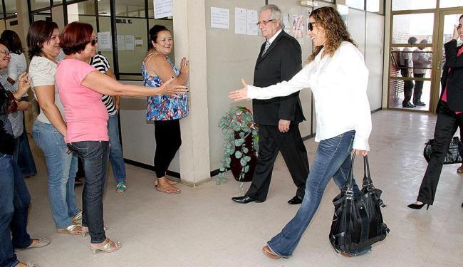 Daniela Mercury esteve na cidade de Esperança, interior da Paraíba, para participar de audiência que - Foto: Leonardo Silva l Jornal da Paraíba