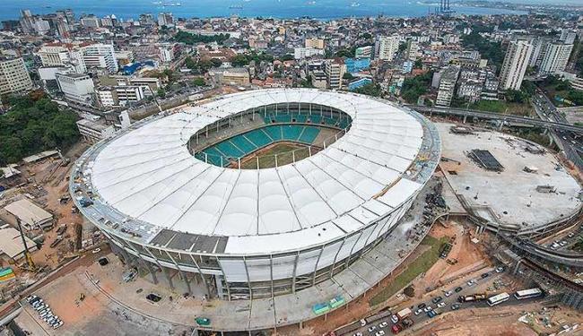 Os 1601 ingressos restantes para jogo na Fonte Nova serão vendidos a partir das 9h desta quinta, 28 - Foto: Nilton Souza / Divulgação