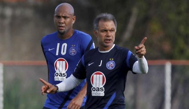 Antes titular inquestionável, Souza pode perder vaga no time titular de Jorginho para novos reforços - Foto: Eduardo Martins | Ag. A Tarde