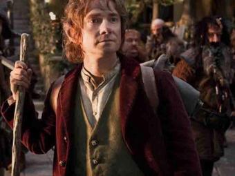 Martin Freeman em cena de O Hobbit: Uma Jornada Inesperada - Foto: Divulgação