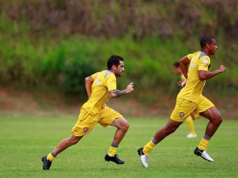 De volta ao batente, elenco rubro-negro inicia a semana com treinos físicos puxados - Foto: Fernando Vivas | Agência A TARDE
