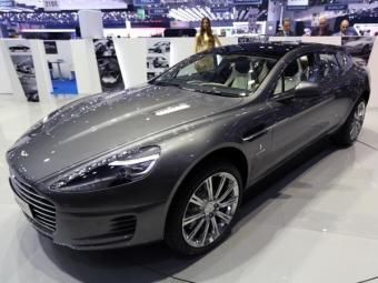 O Aston Martin foi feito pela Bertone para um cliente - Foto: Divulgação