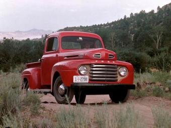 A F-1 foi o primeiro produto da Ford no pós-Segunda Guerra Mundial - Foto: Divulgação