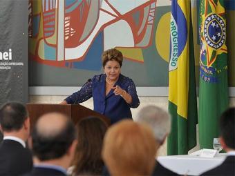Compromisso com o novo papa, em Roma, faz Dilma Roussef adiar visita à Arena Fonte Nova - Foto: Antonio Cruz l Agência Brasil