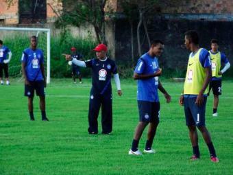 Com time definido, Jorginho aproveita treinamento para ajustar posicionamento da sua equipe - Foto: Esporte Clube Bahia | Divulgação