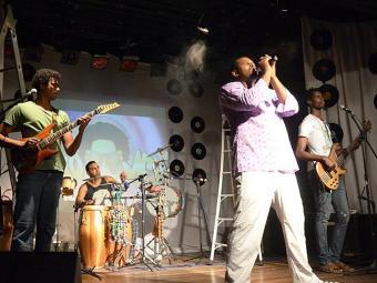 Grupo recebe Magary, Olodum e Tatau no show - Foto: Divulgação