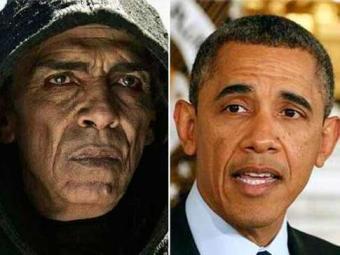 Ator marroquino que interpreta o diabo se parece com o presidente americano - Foto: Divulgação