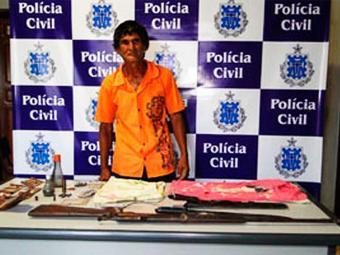 Aleixo teve a prisão decretada pela Comarca de Correntina - Foto: Divulgação | Polícia Civil