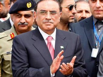 Zardari aprovou a proposta que define a data das eleições - Foto: Agência Reuters