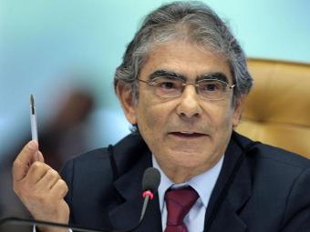 A vaga é do ministro Carlos Ayres Britto, que se aposentou em meio ao julgamento do mensalão - Foto: Nelson Jr. | SCO | STF