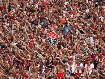 Embalada pelo aproveitamento de 100% do Vitória no Baianão, torcida deve comparecer em bom número - Foto: Eduardo Martins | Agência A TARDE