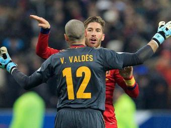 Espanha bate a França, assuma a ponta do Grupo I e fica mais perto da Copa do Mundo no Brasil - Foto: Gonzalo Fuentes   Agência Reuters