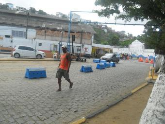 A movimentação de passageiros ainda é tranquila no Terminal de São Joaquim - Foto: Divulgação | IM