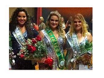 Aline Zattar (centro) foi eleita a Miss Brasil Plus Size - Foto: Divulgação