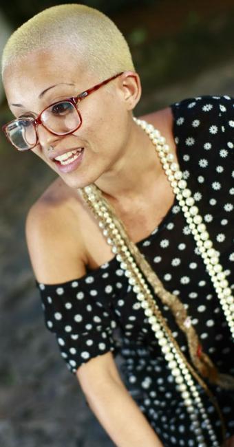 A atriz Roberta Nascimento denuncia agressão causada por segurança da Acbeu - Foto: Fernando Vivas | Ag. A TARDE
