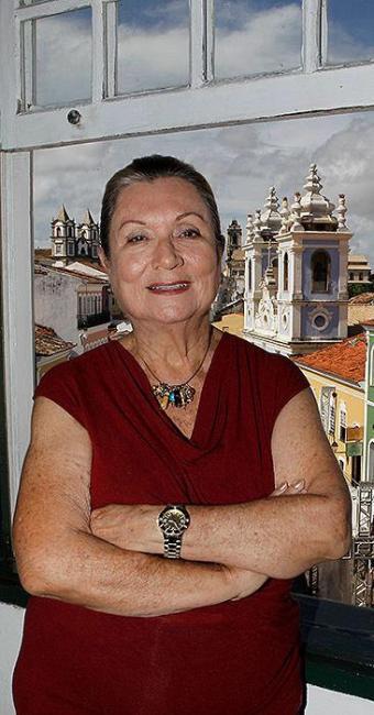 Myriam dirige a Fundação Casa de Jorge Amado desde sua criação, em 1986 - Foto: Eduardo Martins | Ag. A TARDE